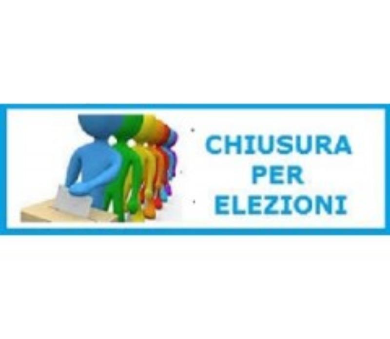Chiusura uffici per consultazione elettorale