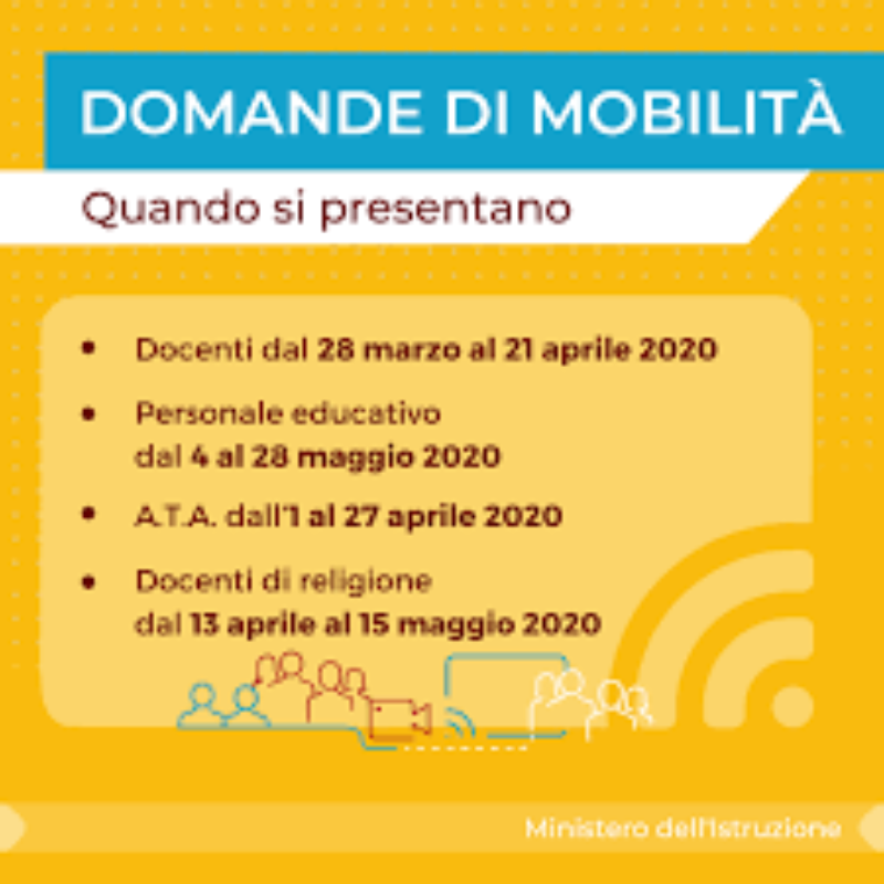 Mobilità personale Docente e ATA  A.S. 2020-2021