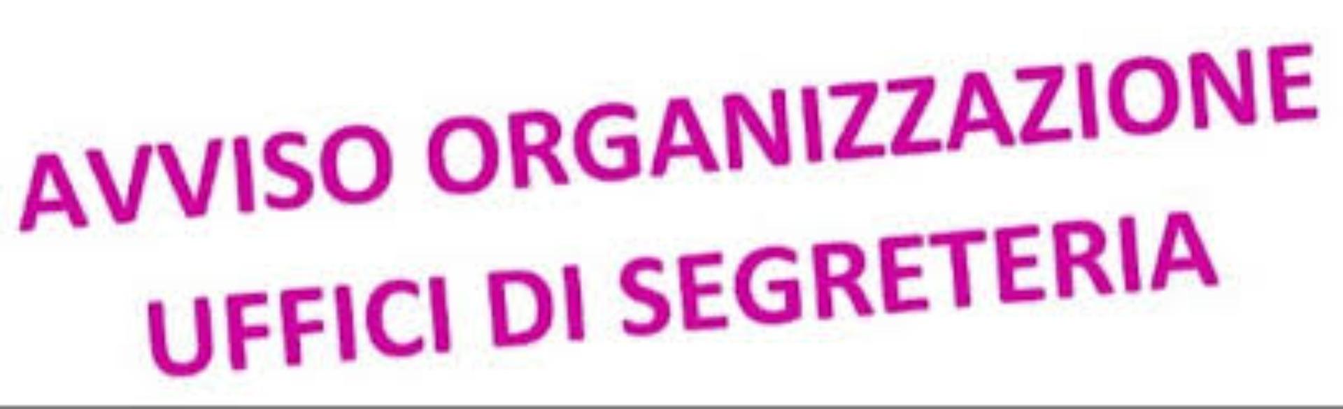 Disposizione organizzazione attività uffici de...