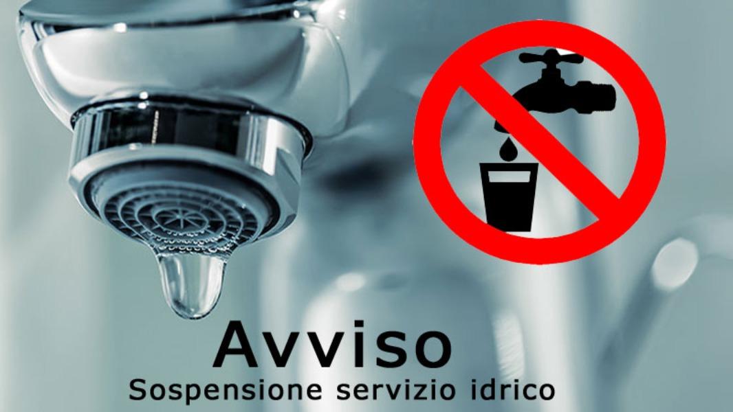 Chiusura scuola causa sospensione servizio idri...