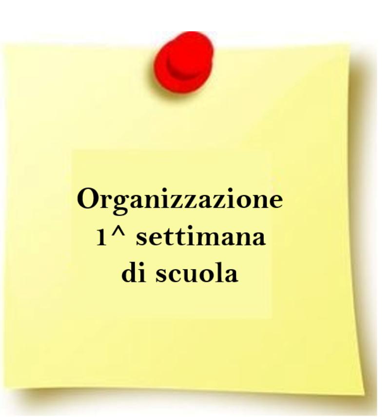 Comunicazione organizzazione lezioni
